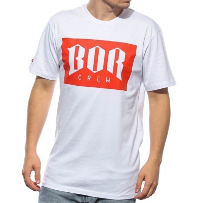 Koszulka BOR BOR NEW Biała