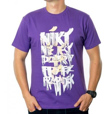Koszulka G-FOR NIKT Fioletowa