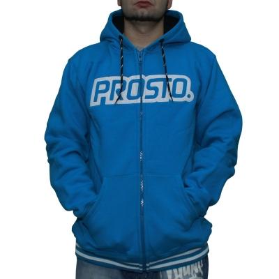 Bluza PROSTO KL ZIP HOODY PRIMARY BLUE