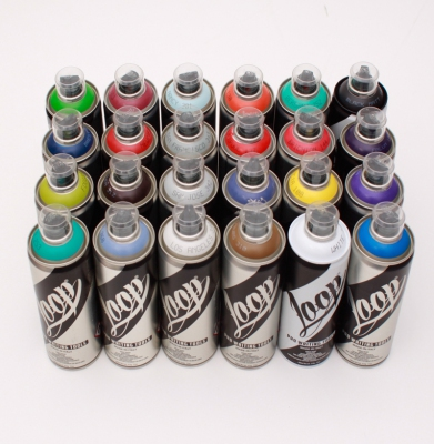 Farby LOOP Color Pack 24 x 400ml