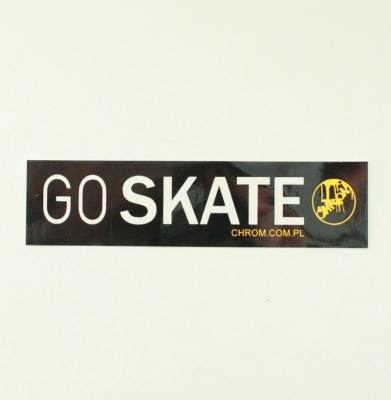 Naklejka CHROM Go Skate
