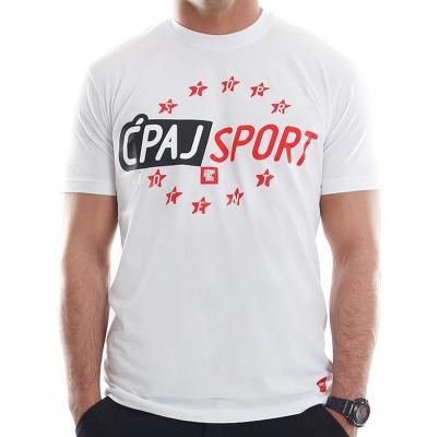 Koszulka STOPROCENT ĆPAJ SPORT Biała