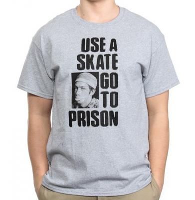 Koszulka THRASHER Use A Skate Grey