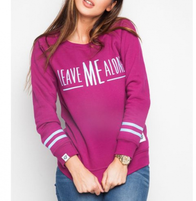 Bluza Damska DIAMANTE WEAR 'Leave Me Alone'