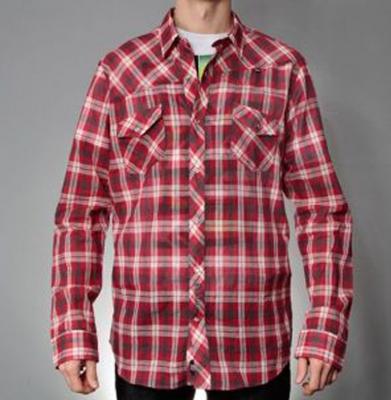 Koszula MALITA CLASSIC Grey/Red