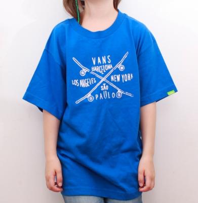 Koszulka VANS Boys Niebieska