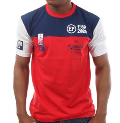 Koszulka EL POLAKO Half Colour Czerwona