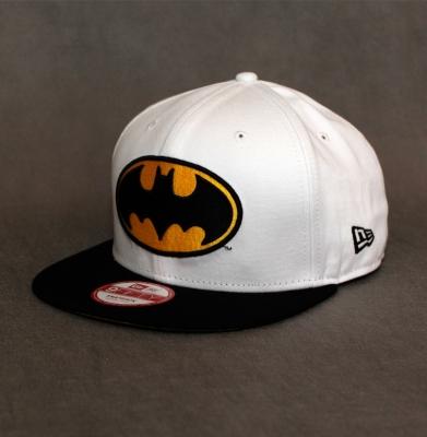 Snapback NEW ERA ''BATMAN'' White/Black
