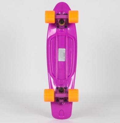 Deskorolka FISH SKATEBOARDS CLASSIC Purple/Purple/Orange