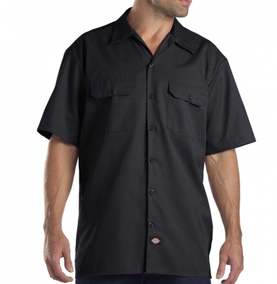 Koszula DICKIES SHORT SLEEVE Original Fit 1574 Black