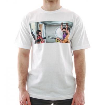 Koszulka DGK Chainsaw White