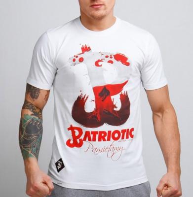 Koszulka PATRIOTIC PW Pamiętamy Biała