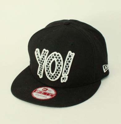 Snapback NEW ERA Yo! Mtv Raps Black