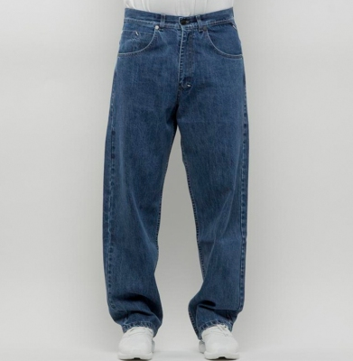Spodnie MASS DNM Slang Baggy Fit Blue