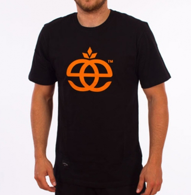 Koszulka ELADE ICON BLACK/ORANGE