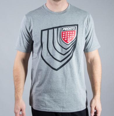 Koszulka PROSTO DIMENSION MEDIUM HEATHER GREY