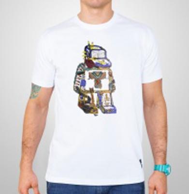 Koszulka TABASKO DOODLE Biała