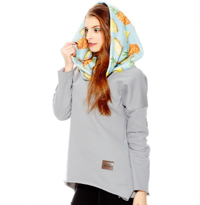 Bluza URBAN REPUBLIC Cosy Pineapple