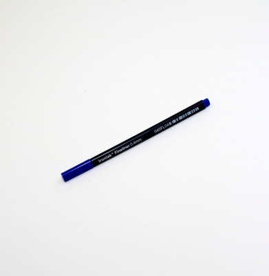 IRONLAK 0.4mm Fineliner Granatowy