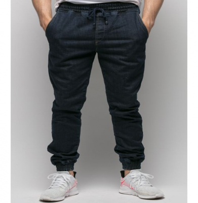 Spodnie DIAMANTE WEAR 'Jogger RM Jeans' Granatowy