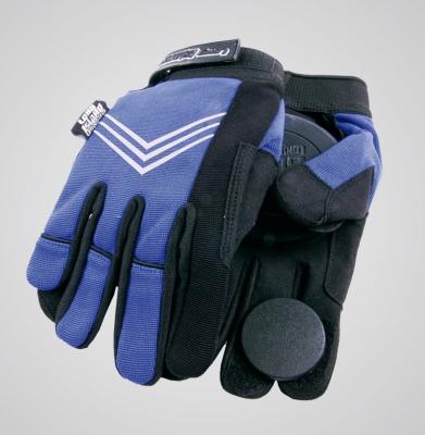Rękawice do longboardu LONG ISLAND CURLY BLUE