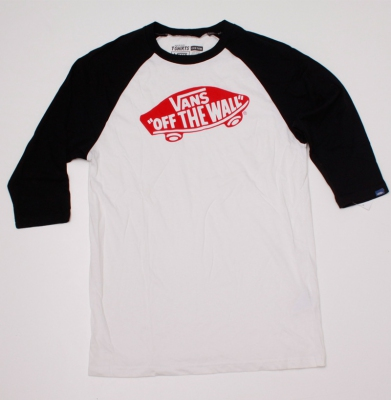 Koszulka VANS OFF THE WALL CLASSIC BLK WHT