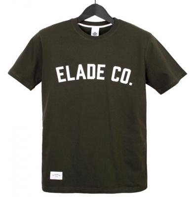 Koszulka ELADE Collage Olive