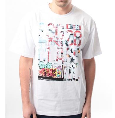 Koszulka SSG GRAFFITI LETTERS Biała