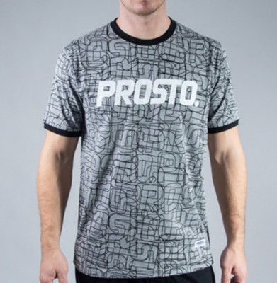 Koszulka PROSTO LINES BLACK