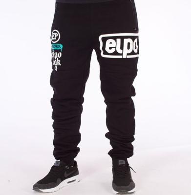 Spodnie Dresowe EL POLAKO Below Fit Czarne