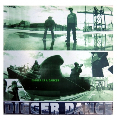 Vinyl Digger Dance - Digger Is A Dancer