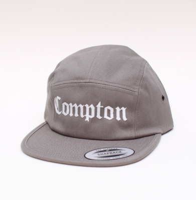 Czapka YUPOONG COMPTON 5PANEL  Grey