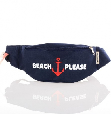 Nerka/Saszetka DIAMANTE WEAR 'Beach Please' Granatowa