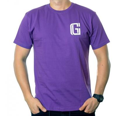 Koszulka G-FOR PEWNEGO DNIA Fioletowa