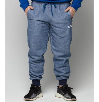 Spodnie Dresowe DIAMANTE WEAR 'Di' Niebieski Jeans