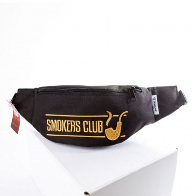 Nerka/Saszetka DIAMANTE WEAR Smokers Club Czarno/Złota