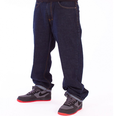 Spodnie Jeans EL POLAKO Expedition Dark Blue