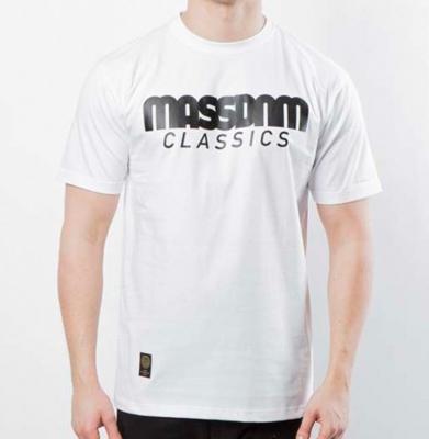 Koszulka MASS DNM Classics White