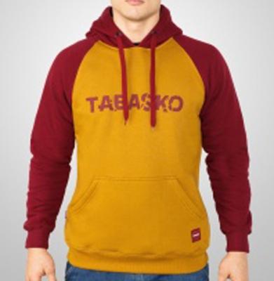 Bluza TABASKO SCRATCH Bordowo Musztardowa