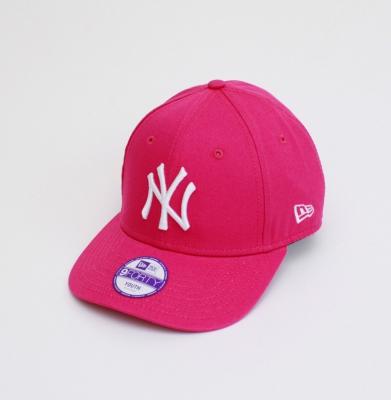 Czapka NEW ERA 9FORTY YOUTH NEW YORK Różowa