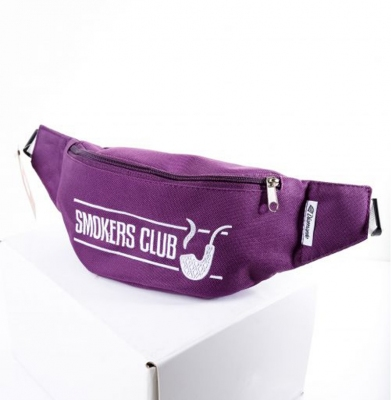 Nerka/Saszetka DIAMANTE WEAR Smokers Club Fioletowa