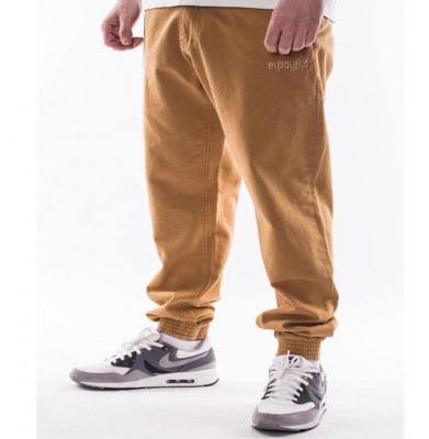 Spodnie EL POLAKO Joggery Slim Miodowe