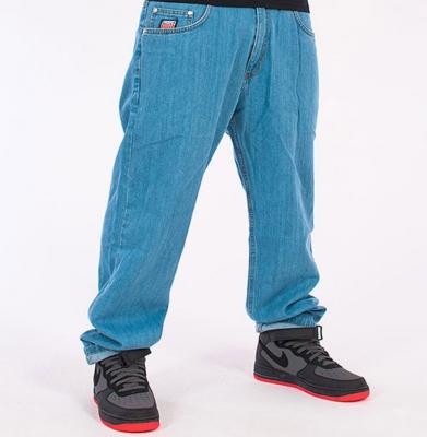 Spodnie PROSTO KL JEANS FLAVOUR LIGHT BLUE (Baggy)