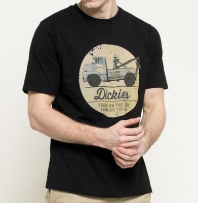 Koszulka DICKIES RUSSELLVILLE Black