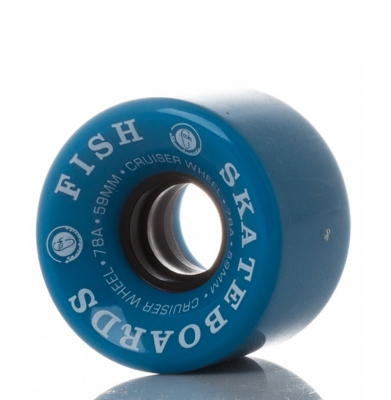 Kółka FISH Skateboards Cruiser Blue 59mm