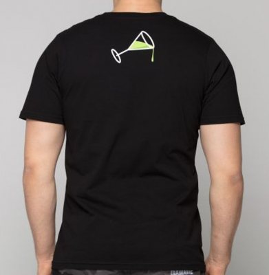 Koszulka DIAMANTE WEAR 'Ciężko Jest Lekko Żyć' Czarna