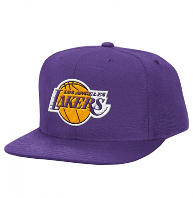 Czapka MITCHELL & NESS SNAPBACK LA LAKERS Basic Logo