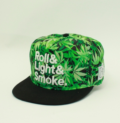 Czapka CAYLER & SONS SNAPBACK ROLL LIGHT SMOKE GREEN
