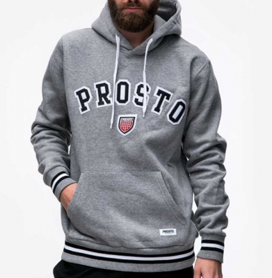 Bluza PROSTO ARC MEDIUM HEATHER GREY