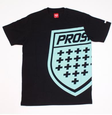 Koszulka PROSTO BIG SHIELD Black
